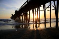 太阳地亚哥加州,美国 库存照片