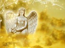 太阳天使 免版税图库摄影