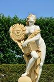太阳女神雕塑, Herrenhausen庭院,汉诺威,更低的萨克斯管 图库摄影
