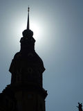 太阳对比,德累斯顿,德国 库存照片