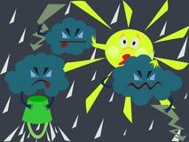 太阳将返回 向量例证