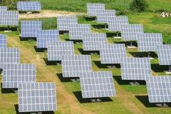 太阳工厂的次幂 图库摄影