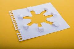 太阳形状纸 免版税图库摄影