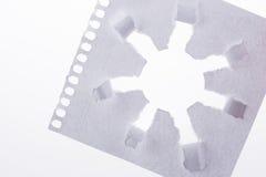 太阳形状纸 免版税库存图片