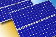 太阳技术 库存图片