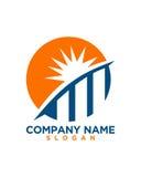 太阳投资成为业务保险摘要的伙伴 免版税库存图片