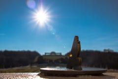 太阳时钟 图库摄影