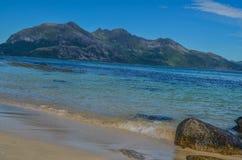 太阳海滩 库存图片