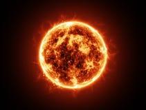 太阳火 库存图片