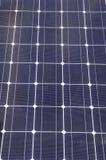 太阳特写镜头能源将来的面板光致电压的可延续的储蓄 免版税库存照片