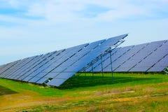 太阳电池板。 免版税图库摄影