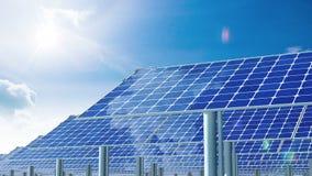 太阳电池板和太阳 4K Timelapse 影视素材