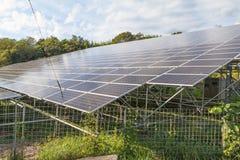 太阳电池板,创新的光致电压的模块绿化能量fo 免版税图库摄影
