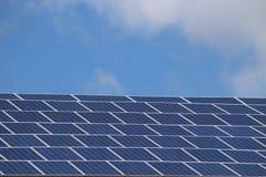 太阳电池板细胞 库存图片