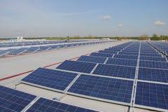 太阳电池板 免版税库存照片