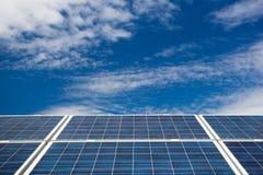 太阳电池板 免版税图库摄影