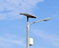 太阳电池的闪亮指示 免版税图库摄影