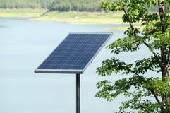 太阳电池的面板 免版税库存图片