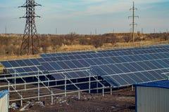 太阳电池 免版税图库摄影