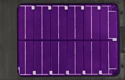 太阳电的面板 免版税库存图片