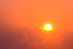 太阳疾风 免版税库存照片