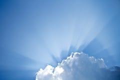 太阳的光芒 免版税库存照片