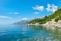 太阳的克罗地亚 免版税库存照片