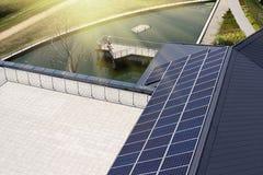 太阳的屋顶 免版税库存图片
