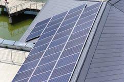 太阳的屋顶 免版税库存照片