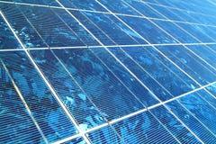太阳的电池 库存照片