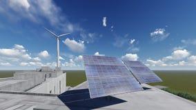 太阳的电池 JPG 免版税库存照片