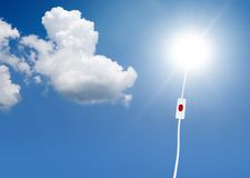 太阳的能源 免版税库存图片