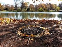 太阳的自然坛场 图库摄影