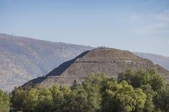 太阳的著名金字塔 库存图片