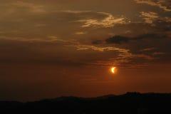 太阳的蚀 库存照片