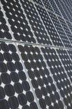 太阳的面板 免版税图库摄影