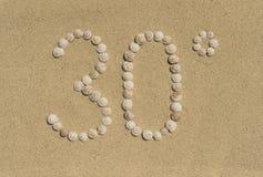 太阳的30° 免版税库存图片