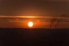 太阳盘 库存图片
