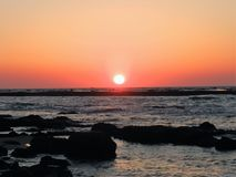 太阳秋天 库存照片