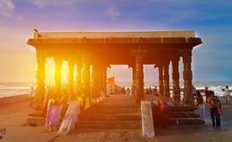 太阳米在科摩林角 免版税图库摄影