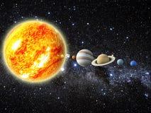 太阳系 库存照片