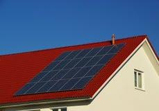 太阳能发电厂12 免版税图库摄影