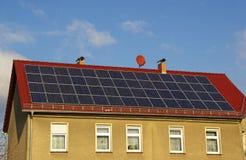 太阳能发电厂14 库存照片
