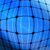 太阳能技术  免版税库存照片