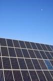 太阳能源的月亮 免版税库存照片
