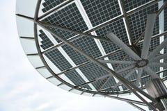 太阳能源的面板 免版税库存照片