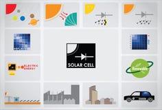 太阳能电池象 免版税图库摄影