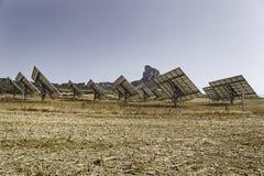 太阳能的建筑在域的 免版税库存图片