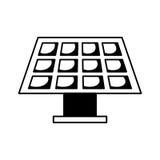 太阳能盘区象 向量例证
