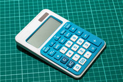 太阳能计算器 免版税库存照片
